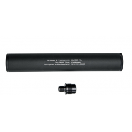 ASG HUSH XL Silencer-Barrel Extention imitatie demper