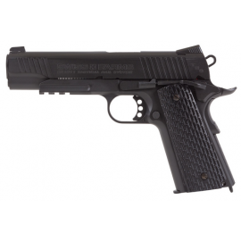 4,5mm Co2 Airgun steel BB/ 4,5mm Swiss Arms SA1911 Tactical Rail Black CO2 Blowback