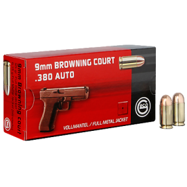 9mm Browning Court .380 Auto