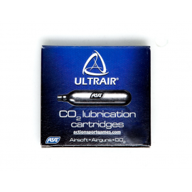 ASG Ultrair 12-Gram CO2 Lubrication Cartridges, 5ct