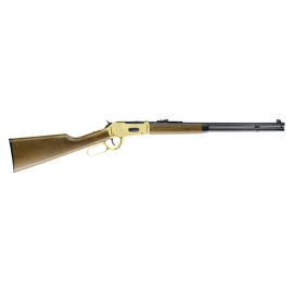 Umarex Walther Lever Action Legends Cowboy Rifle Gold finish 4,5mm steel bb
