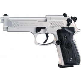 CO2 Airgun BERETTA M 92 FS Nickel 4,5 mm (.177) BB / Diabolo