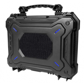ASG Tactical Waterproof Pistol case, Cubed foam 290 x 210 mm