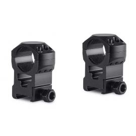 "HAWKE Tactical Ring Mounts 1"" 2 PieceWeaverExtra High"