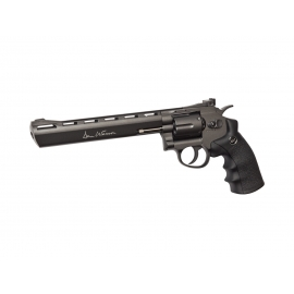 "CO2 6mm Airsoft Revolver DAN WESSON 8"" GREY"