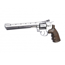 "CO2 Airsoft Revolver DAN WESSON 8"" SILVER"