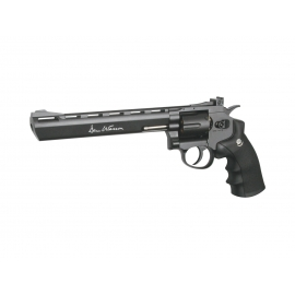 "4,5mm CO2 BB AirgunCO2 Airgun Revolver DAN WESSON 8"" GREY"