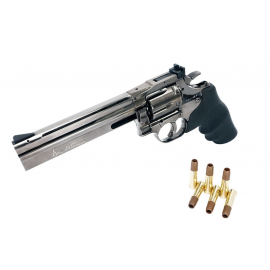 ASG Dan Wesson 715 6 inch Revolver Steel Gray (High Power) CO2 Airsoft