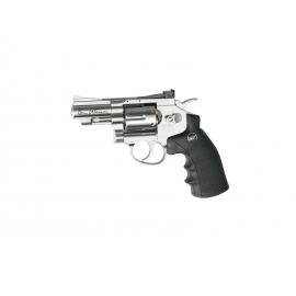 "CO2 Airgun Revolver DAN WESSON2,5"" SILVER 4,5 BBS"