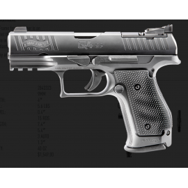 9mm Wather PPQ Q4 STEEL FRAME OR