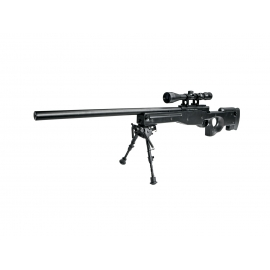 Airsoftrifle, SL, spring, AW 308 sniper, black