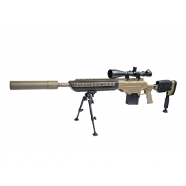 6 mm Airsoftrifle, PL, ASW338LM Sniper, Ashbury