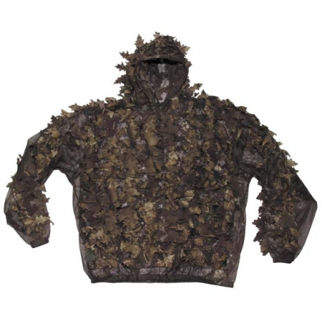 "Gi Camo Suit ""leaves"", 3-parts, hunterbrown"