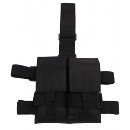 "GI Tactical Holster, ""Molle"", leg- and belt fixing, black t"