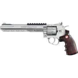 "CO2 Airsoft Revolver Ruger SuperHawk 8"" Silver"
