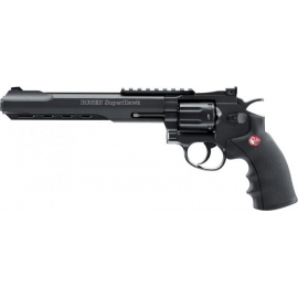 "6mm Co2 Airsoft Revolver Ruger SuperHawk 8"" Black"