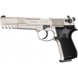 CO2 Airgun WALTHER CP88 COMPETITION 4,5mm pellets