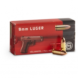 9mm GECO 9mm 115 Grain FMJ Ammo