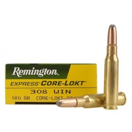 308, Remington, 180 gr, 20 per Box