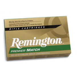 308, Remington Premier Match , 168 gr, 20 per Box