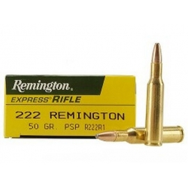 222 Remington 50gr PSP (20 st)