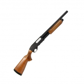 Airsoft Spring powered M870 Police Version Wood Classic Army