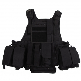 Vest Ranger Modular, black, 5 bags and pouches