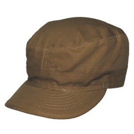 US BDU Field Cap, Rip Stop, coyote tan