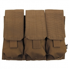 M16 Ammo Pouch, triple, Molle, coyote tan