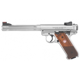 .22lr Ruger Mark IV™ Stainless Steel Hunter