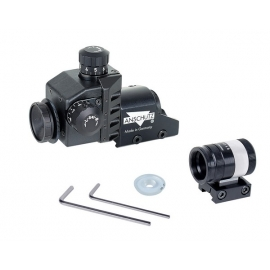 ANSCHÜTTZ sight set with front sight 6832, Universal micrometer rear sight 7002,