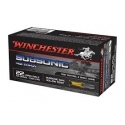 500 st 22lr Winchester 42 gr subsonic hollowpoint 42 MAX