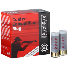 100 st GECO Coated Competition Slug