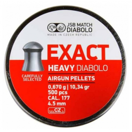 4,52mm JSB Exact Heavy DIabolo