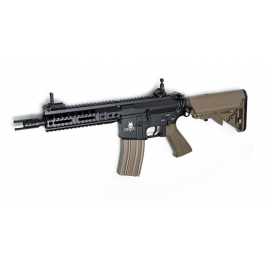 "Airsoftrifle, AEG, CQB 7"" Tan - M15 DEVIL Series"