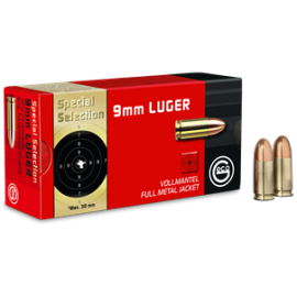 GECO 9 mm Luger 8 g blindée Special Selection
