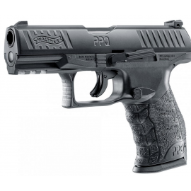 Kal.43 12gr CO2 Walther PPQ M2 T4E defense training marker BLACK