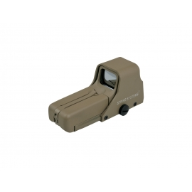 Dot sight, advanced 552, red/green, desert