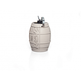Impact grenade GBB 6mm airsoft Storm Grenade 360, GREY/GRIS
