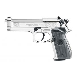 4,5mm/.177 CO2 airgun Beretta M92 FS Polished Chrome