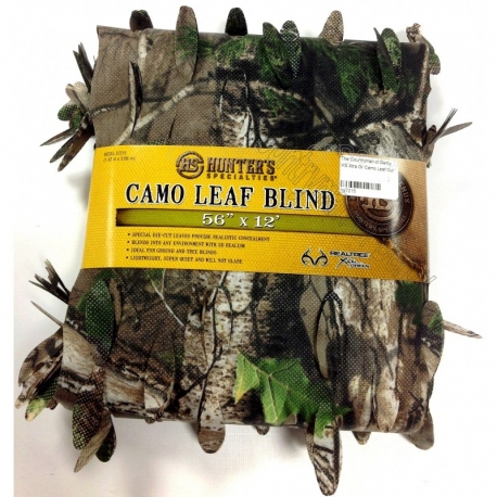 Camo Leaf Blind-Realtree® Xtra Green™