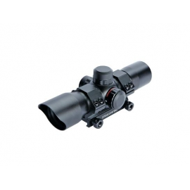 ASG 30mm Dot sight, red/green, incl. mount