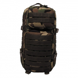 Rugtas Backpack Assault I, woodland