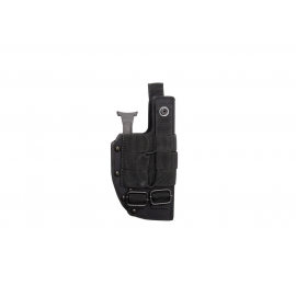 Mid-size belt holster w. quick release