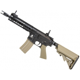 "Airsoftrifle, AEG, CQB 9,5"" Tan - M15 DEVIL Series"