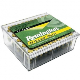 100 st Remington Golden Bullet Ammunition 22 SHORT 40 Grain High Velocity Round Nose