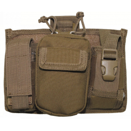 "MOLLE Mobile Phone Bag, ""MOLLE"", coyote tan"