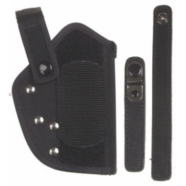 Holster, nylon, P1, black, safety catch