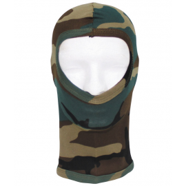 Balaclava, cotton, woodland