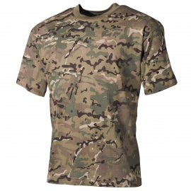 US T-Shirt, classic-style, operation camo, 170 g/m²